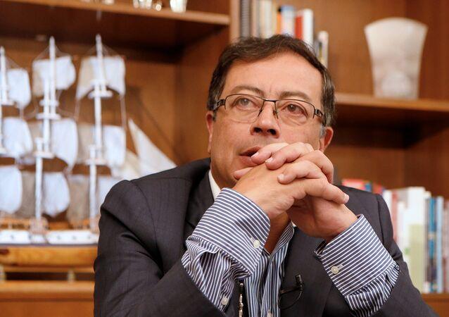 Gustavo Petro, candidato presidencial colombiano
