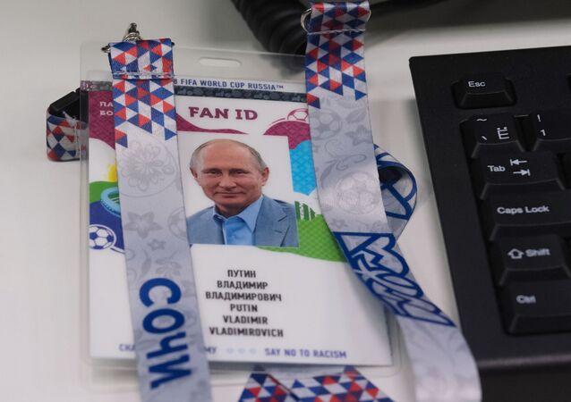 El Fan ID de Vladímir Putin