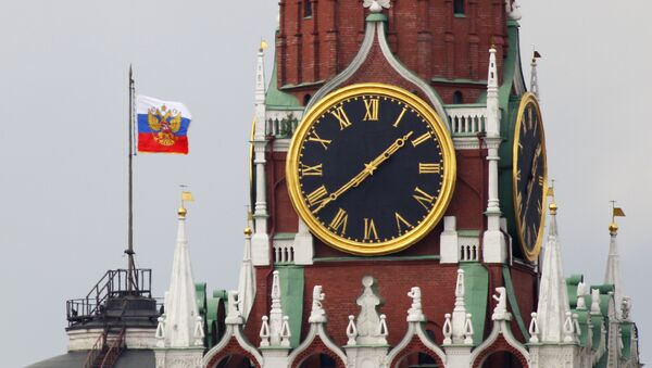 El Estandarte del presidente de la Federación de Rusia en Kremlin - Sputnik Mundo