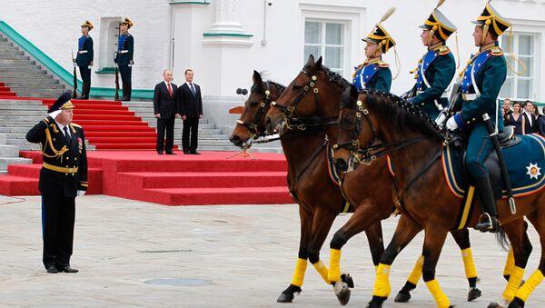 La ceremonia de la investidura del presidente ruso en el Kremlin - Sputnik Mundo
