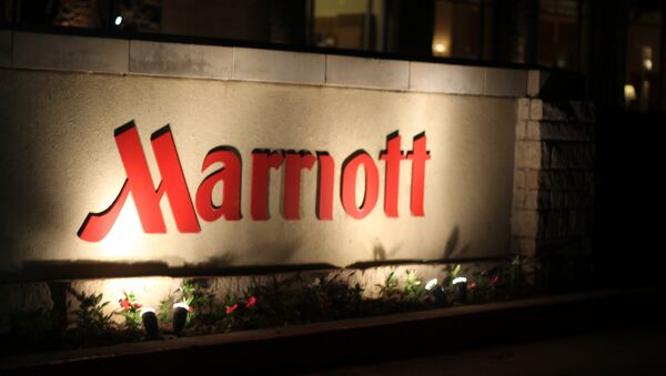 Logo de los hoteles Marriott - Sputnik Mundo