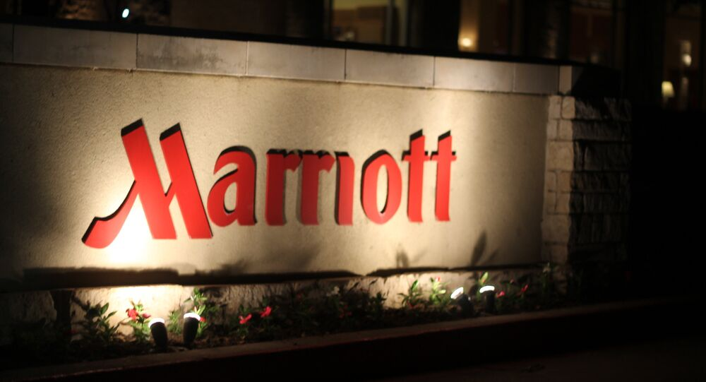 Logo de los hoteles Marriott