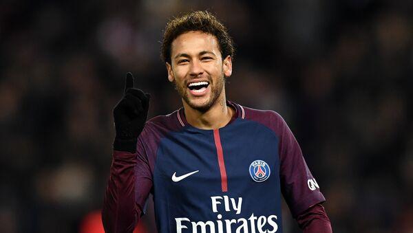 Neymar, delantero de la selección de Brasil - Sputnik Mundo