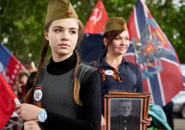 El Regimiento Inmortal continúa su marcha por el mundo