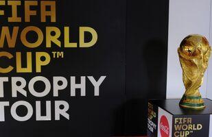 El trofeo de la Copa Mundial de fútbol (archivo)