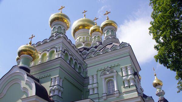 Una iglesia en Kiev, Ucrania - Sputnik Mundo