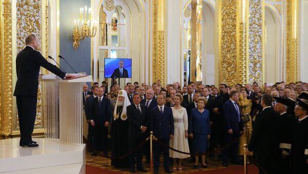 El presidente Vladímir Putin jura su cuarto mandato - Sputnik Mundo