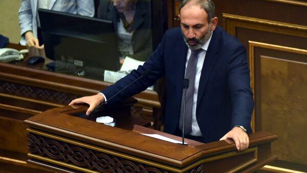 Nikol Pashinián, elegido primer ministro de Armenia - Sputnik Mundo