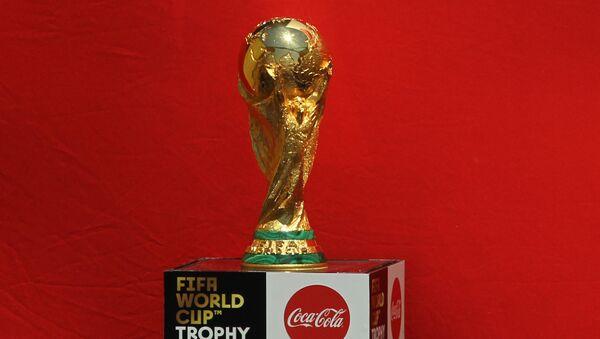 El trofeo de la Copa Mundial de fútbol (archivo) - Sputnik Mundo