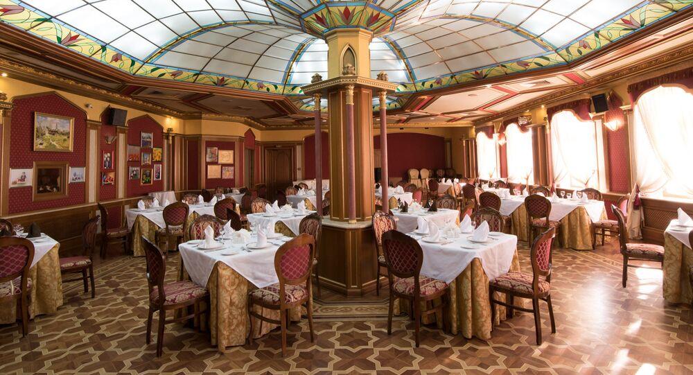 La casa de la cocina tártara en Kazán