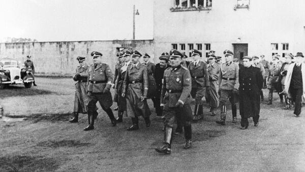 Campo de concentración de Sachsenhausen, Alemania, 1940 - Sputnik Mundo