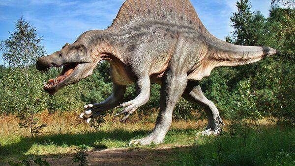Dinosaurio (imagen referencial) - Sputnik Mundo