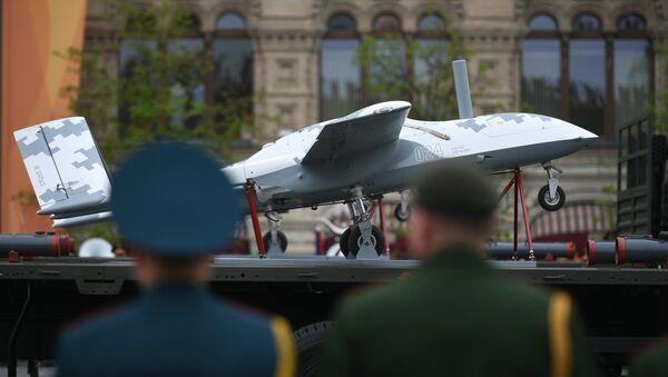 Dron de combate Korsar - Sputnik Mundo