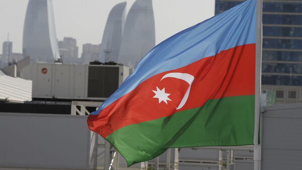 Bandera de Azerbaiyán - Sputnik Mundo