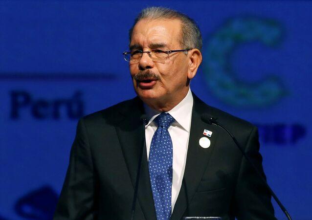 Danilo Medina, presidente de la República Dominicana (archivo)