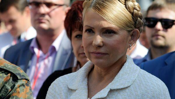 Yulia Timoshenko, foto de archivo - Sputnik Mundo