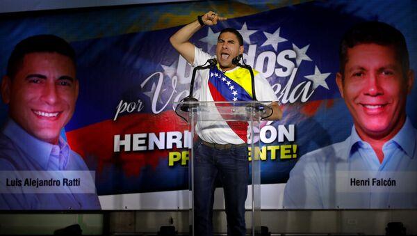 Luis Alejandro Ratti, candidato presidencial venezolano - Sputnik Mundo