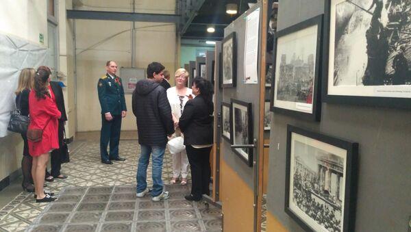 Exposición de fotos en Montevideo por la victoria en la Gran Guerra Patria de Rusia - Sputnik Mundo