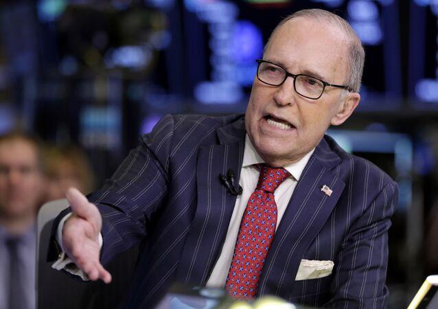 Larry Kudlow, director del Consejo Económico de la Casa Blanca