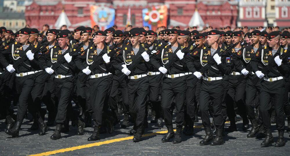 El Desfile del Día de la Victoria en la Plaza Rusia, Moscú, Rusia (imagen referencial)
