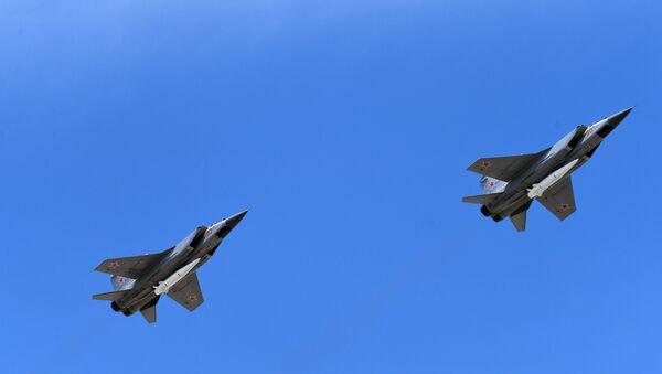 Los interceptores MiG-31 - Sputnik Mundo