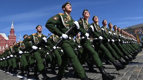 Desfile del Día de la Victoria en la Plaza Roja, Moscú, Rusia - Sputnik Mundo