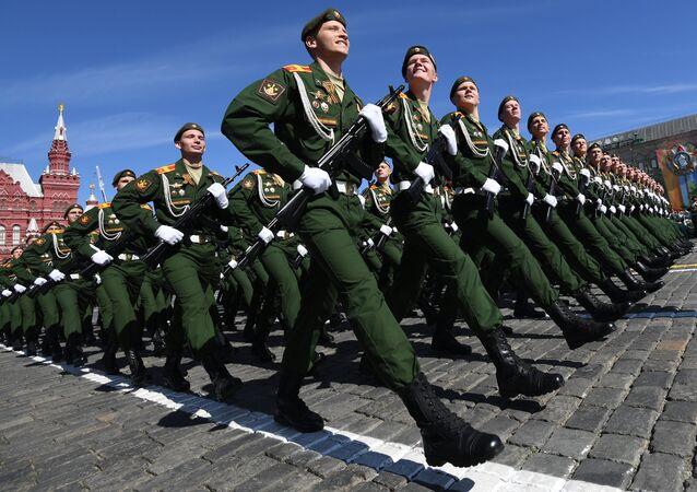 Desfile del Día de la Victoria en la Plaza Roja, Moscú, Rusia