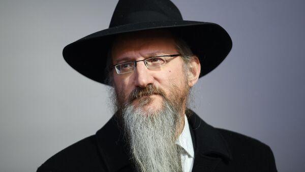 Berel Lazar, rabino jefe de Rusia - Sputnik Mundo