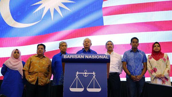 Najib Tun Razak, primer ministro de Malasia - Sputnik Mundo