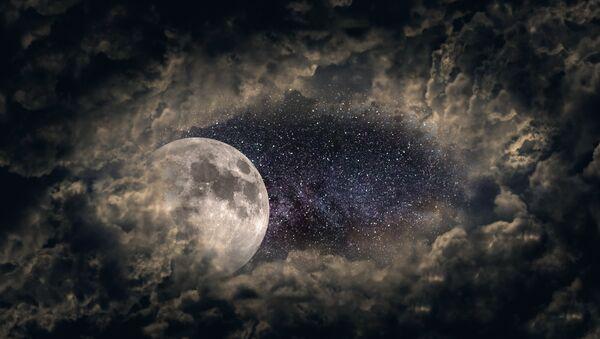 Luna (imagen referencial) - Sputnik Mundo