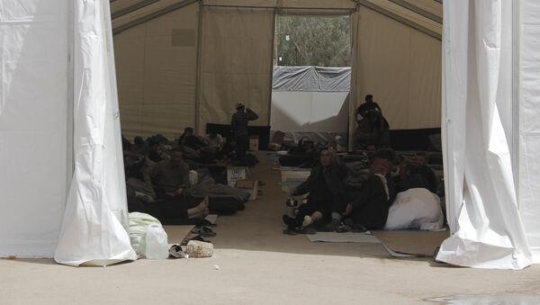 Un campamento para refugiados sirio - Sputnik Mundo