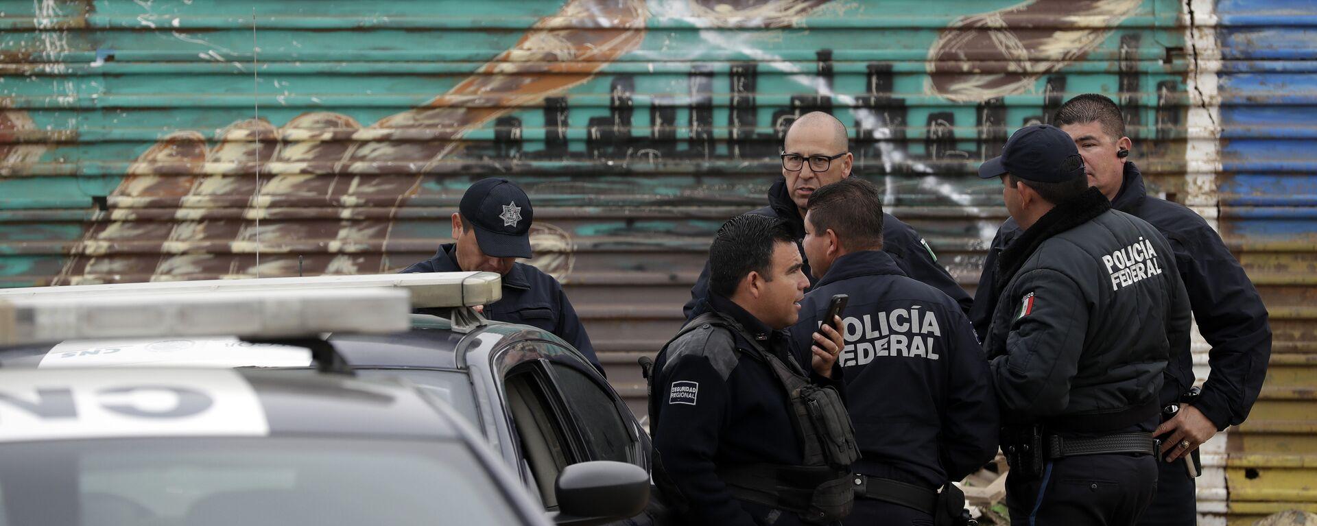 La Policía Federal de México - Sputnik Mundo, 1920, 16.06.2020