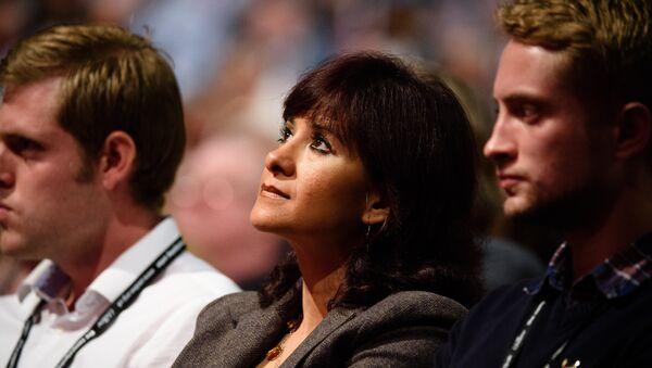 Laura Alvarez, esposa del líder del Partido Laborista británico Jeremy Corbyn - Sputnik Mundo