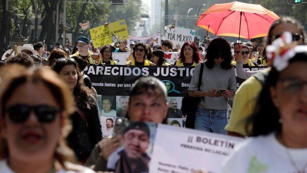 La VII Marcha de la Dignidad Nacional en Ciudad de México - Sputnik Mundo