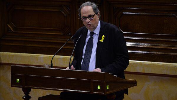Quim Torra, diputado de Junts Per Catalunya - Sputnik Mundo