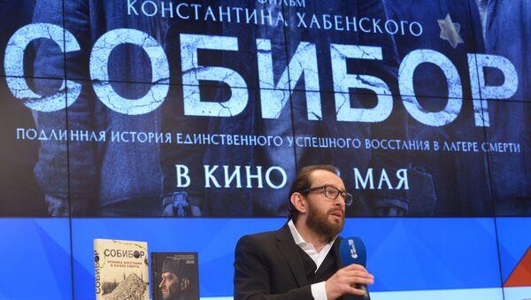 Konstantín Jabenski, el director de la película Sobibor - Sputnik Mundo