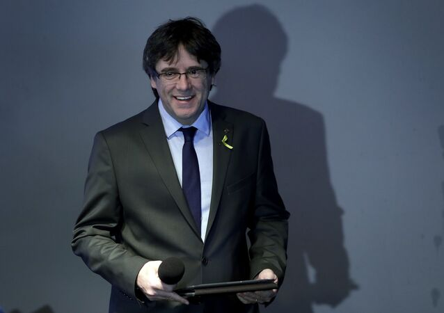 Carles Puigdemont, el expresidente de Cataluña (archivo)