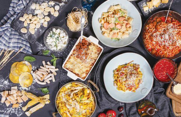 Pastas y lasañas en el restaurante Donna Olivia - Sputnik Mundo