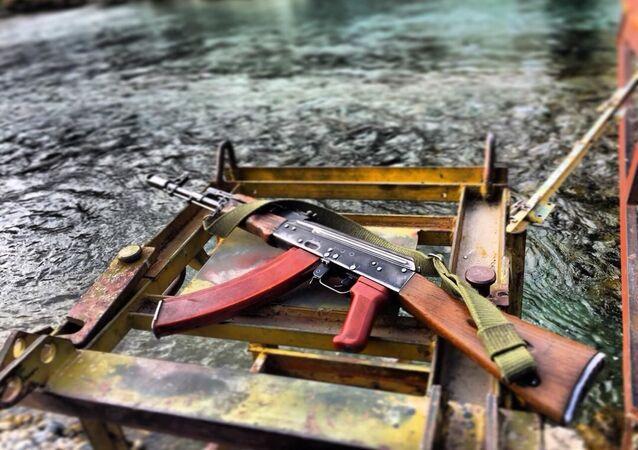 Un arma (imagen referencial)