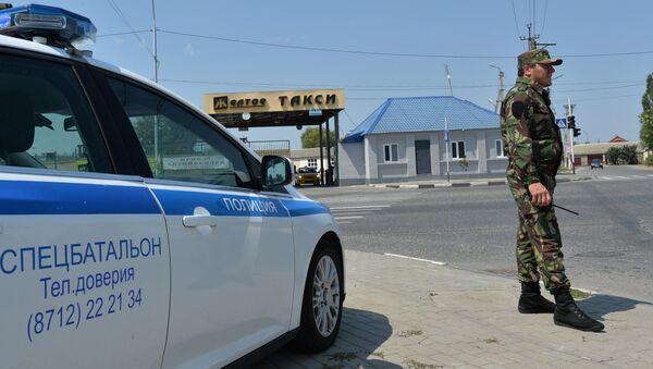 Policía en Grozni, capital de Chechenia (archivo) - Sputnik Mundo