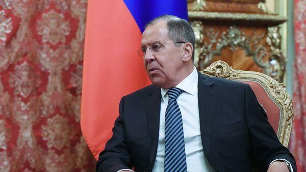 Serguéi Lavrov, el ministro de Asuntos Exteriores de Rusia en funciones - Sputnik Mundo