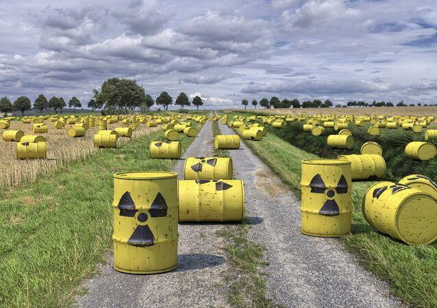 Residuos radiactivos (imagen referencial)