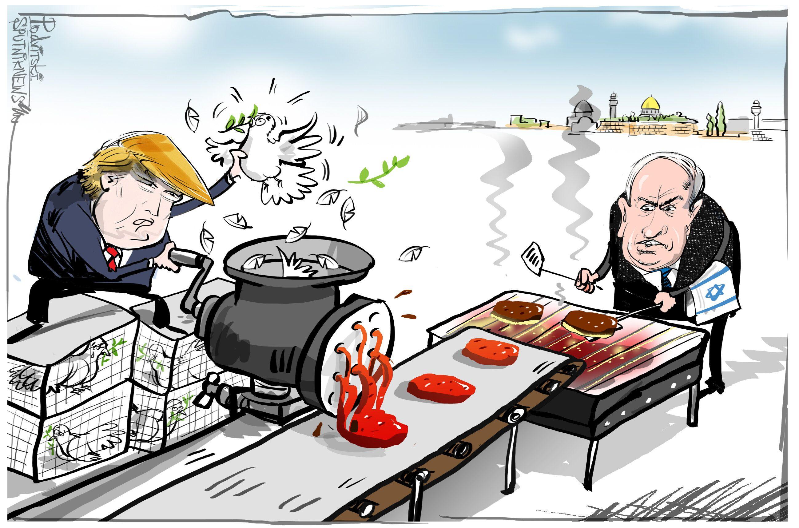 Israel aprende la receta de 'Paz al estilo estadounidense'