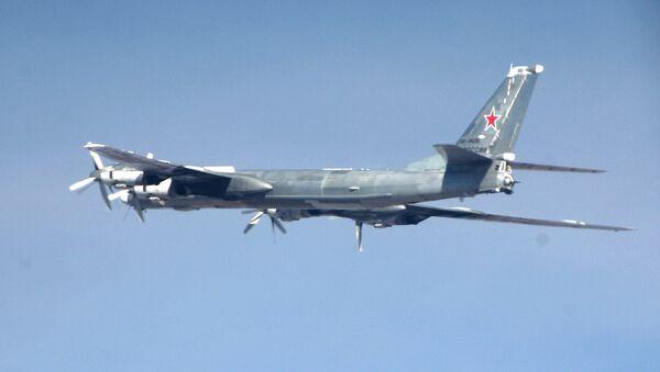Portamisiles estratégico ruso Tu-95MS (foto referencial) - Sputnik Mundo