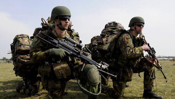 Militares de la OTAN en Europa - Sputnik Mundo