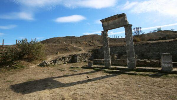 Panticapeo, las ruinas antiguas en la ciudad de Kerch - Sputnik Mundo