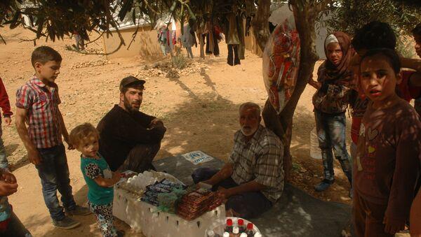 Campo de refugiados Ad Doueir, en la región de Damasco - Sputnik Mundo