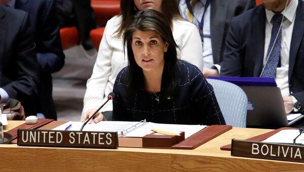 Nikki Haley, la embajadora estadounidense en la ONU - Sputnik Mundo