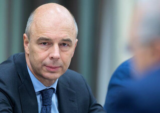Antón Siluánov, ministro de Finanzas de Rusia (archivo)