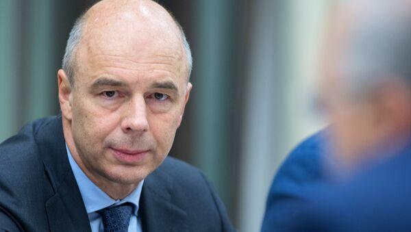 Antón Siluánov, ministro de Finanzas de Rusia entre 2011 y 2018 (archivo) - Sputnik Mundo